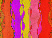Multicolored flowing abstract background. — Stock Photo