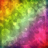 Multicolored fairy bokeh abstract background. — Stock Photo
