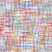 Abstract multicolored checkered pattern on white background. — Stock Photo