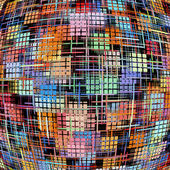 多彩多姿的方格的图案作为抽象背景. — 图库照片