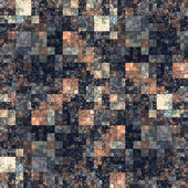 Square shape kaleidoscope abstract background. — Stock Photo