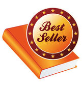 Best seller vector — Stock Vector