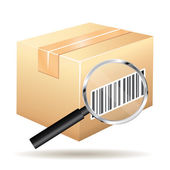 Tracking number icon. — Stock Vector