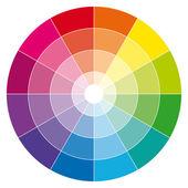 Roda de cores. — Vetor de Stock