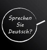 Sprechen sie deutsch ? — Stock Vector