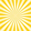 Stock Vector: Retro sunburst background.