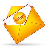 New folder icon. Scoop concept. — Stock Vector
