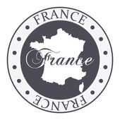 France stamp. — Stock Vector