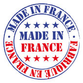 Made in France stamp. — Stock Vector
