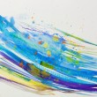 Watercolor Blue Abstract Background — Foto de Stock