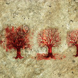 Royalty-Free Stock Photo: Process of the Tree Life in Five Stages.
