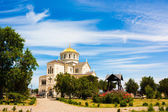 Saint Vladimir Cathedral in Chersonesus, Crimea — Foto de Stock