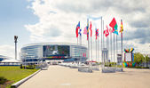 Minsk Arena in Belarus. Ice Hockey Stadium. — Stock Photo