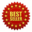 Bestseller label — Foto Stock