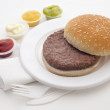 Burger — Stock Photo