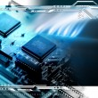 Stock Photo: Abstract technology background