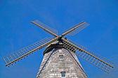 En gammal väderkvarn mjöl produktion — Stockfoto