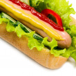 Tasty hot dog, food — Stock Photo #27820015