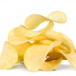 Foto Stock: Potato chips, isolated