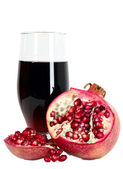 Tasteful fruit garnet — Stock Photo