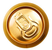 Metal beer can, unopened — Stock Photo