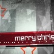 Merry Christmas Grunge Title Loop HD — Stock Video