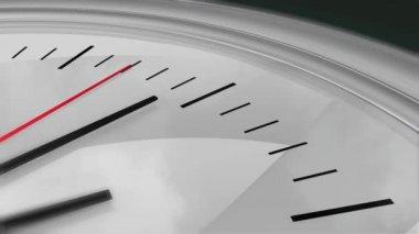 Clock Seconds Ticking HD — Stock Video