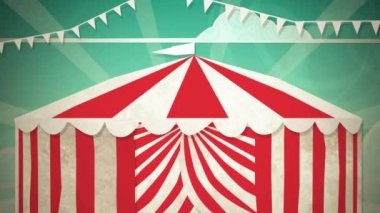 Circus Tent Entrance HD — Stock Video
