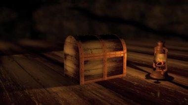 Treasure Chest Opening HD — Stock Video