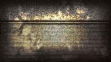 TV Static Noise Jumpy HD — Stock Video