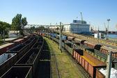 Odessa. Railway. — Stock Photo