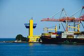 Odessa seaport. — Stock Photo