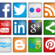 Social networks — Stock Photo