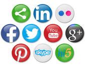 Social networks — Stock Photo