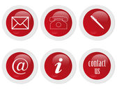 Segni di contatta — Foto Stock