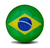 Brazil ball — Stock Photo