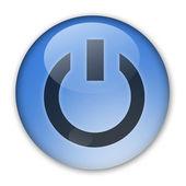 电源标志 — 图库照片