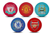 Football clubs — Stock Photo