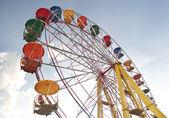 Ferris wheel in the sky — Stock Photo