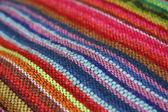 Color fabric handmade — Stock Photo