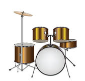 Illustration of Drum Kit — Stock Vector