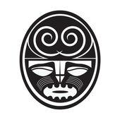 Illustration of Maori style symbol — Stock Vector