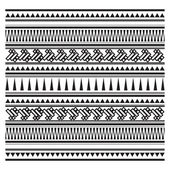 Illustration of Aztec pattern — Stock Vector