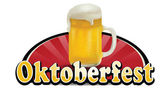 Oktoberfest Banner Illusration — Stock Vector