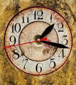 Grunge Clock — Stock Photo