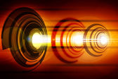 Abstract Laser — Stock Photo