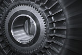 Gear background — Stock Photo