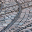 Stock Photo: Tram rails