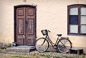 Lonely bike. — Stock Photo
