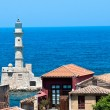 Lighthouse in the city of Chania. - Stock Photo
